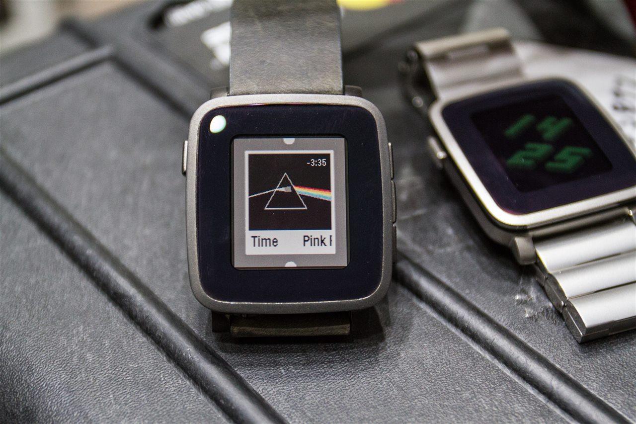Pebble time - Đồng hồ Pebble Time bắt đầu bán ra với giá 199,99 USD