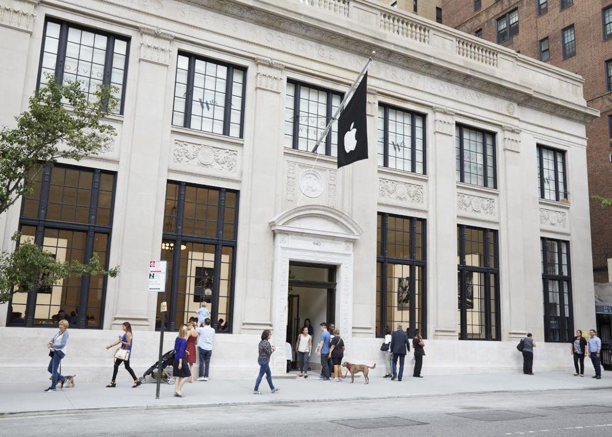 apple store 01 - Apple Store, một cửa hàng không bảng hiệu