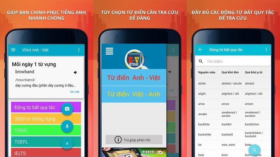 tra tu dien anh viet nhanh tren di dong - Tra từ điển Anh Việt nhanh trên di động