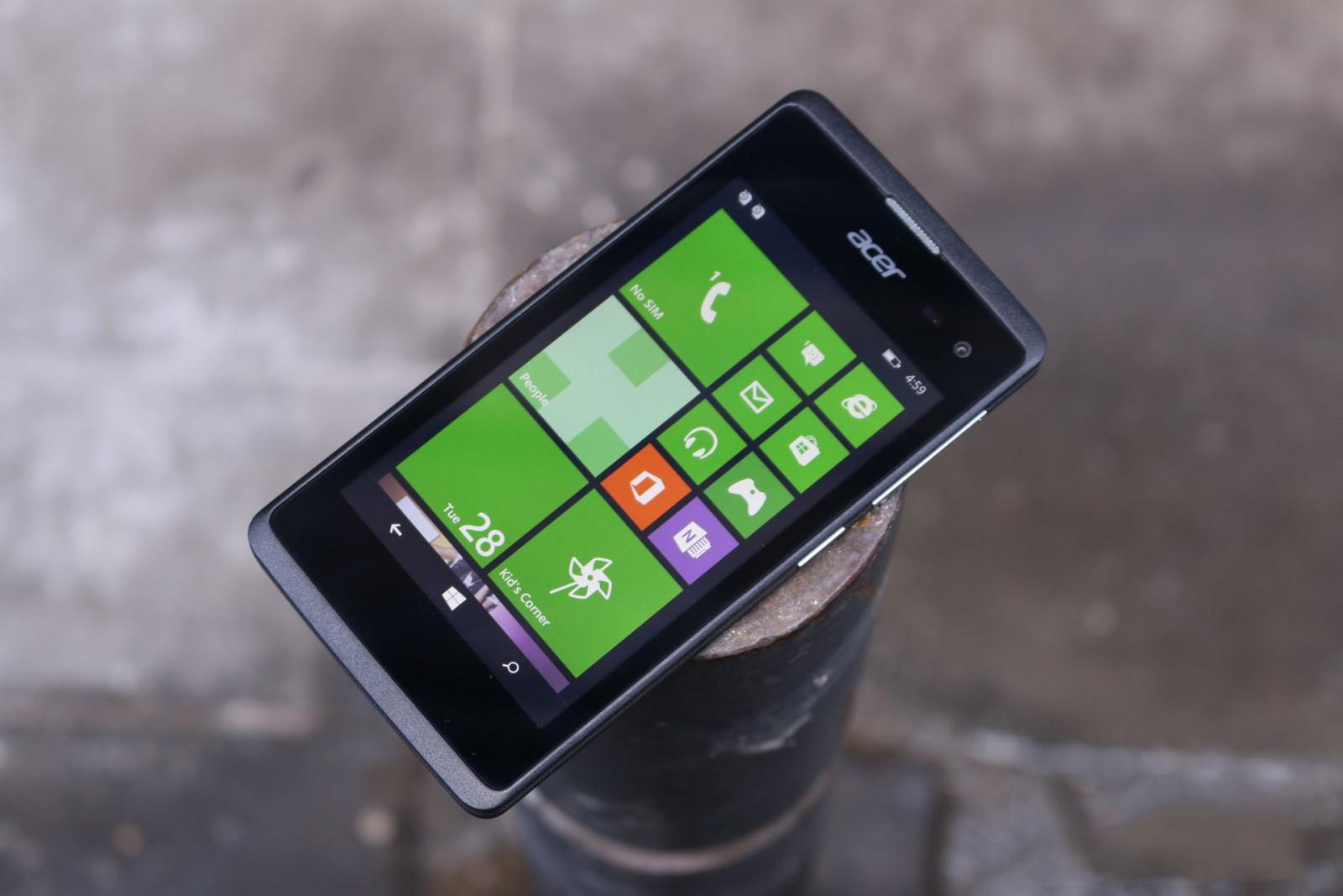 IFA 2015 - Acer sẽ ra mắt bốn điện thoại Windows 10 Mobile tại IFA 2015?