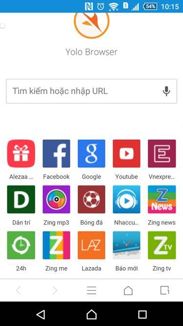image002 - Ra mắt trình duyệt trên mobile Yolo Browser
