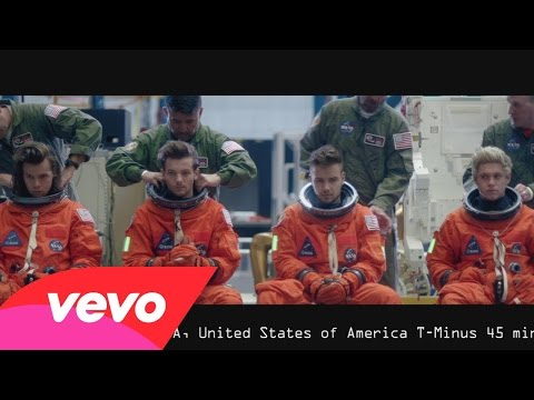 one direction drag me down - One Direction lên tàu Nasa với Drag Me Down