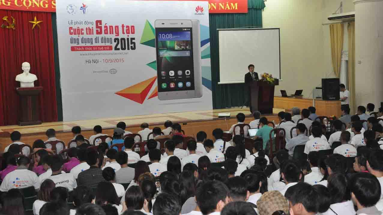 Le phat dong Cuoc thi Anh4 - Phát động Cuộc thi Sáng tạo Ứng dụng Di động 2015