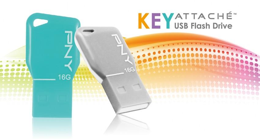 PNY Key Attaché - PNY ra mắt dòng USB Key Attaché mới