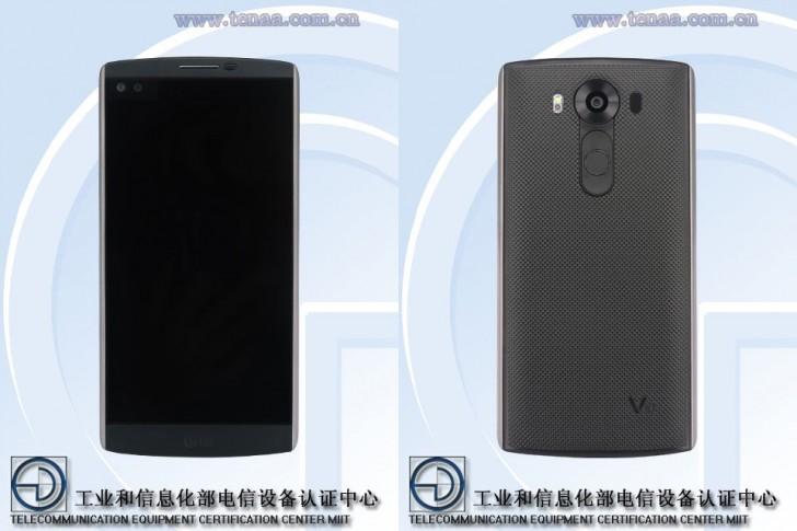 Phablet LG V10 - Phablet LG V10 lộ diện với cấu hình cao và hai màn hình