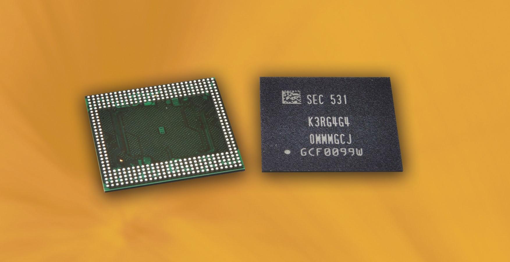 Samsung DRAM 6GB - Samsung khởi động sản xuất chip RAM 6GB cho điện thoại