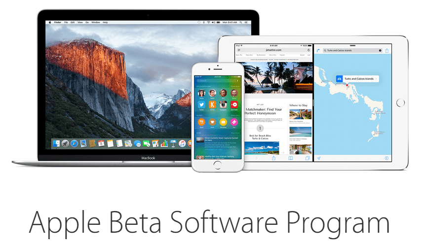 apple beta program - Làm sao dùng thử iOS 9 Beta?
