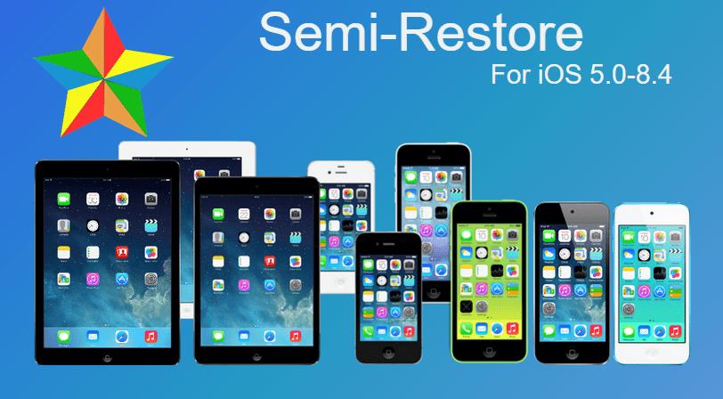 semirestore8 - Hướng dẫn restore iOS 8 không bị mất jailbreak