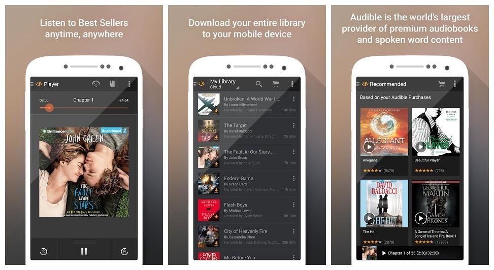 audible - Audible - Nghe 180.000 đầu sách trên Android