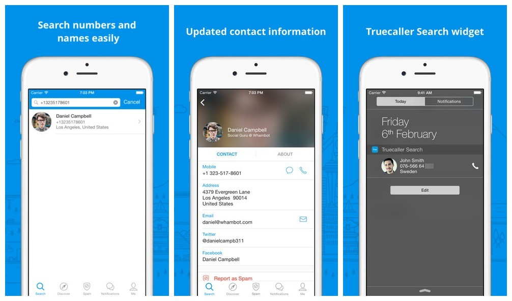 truecaller - Truecaller: Chặn số điện thoại spam trên iPhone