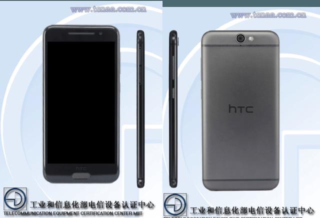 HTC A9w - HTC A9w với chip 8 lõi và màn hình 5 inch lộ diện