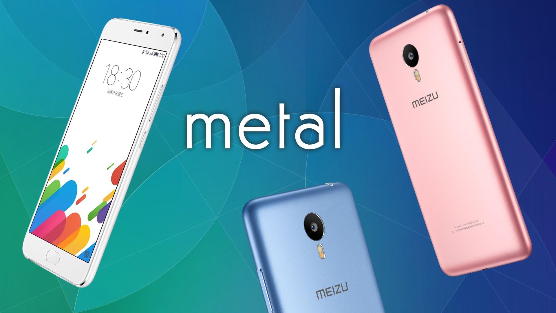 Meizu Metal - Meizu Metal ra mắt với màn hình 5,5 inch và chip Helio X10