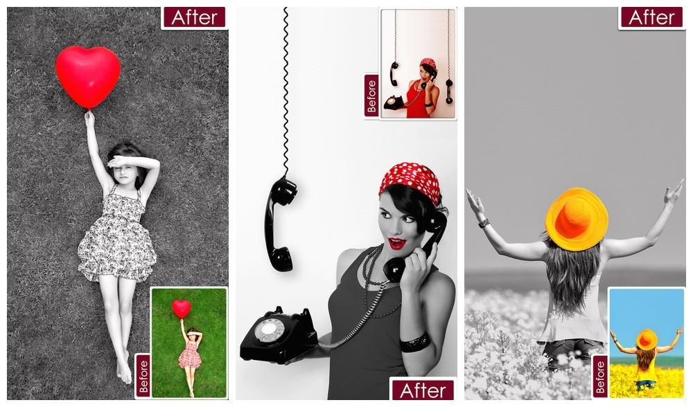color pop effect - Color Pop Effects: Sửa màu ảnh trên iPhone