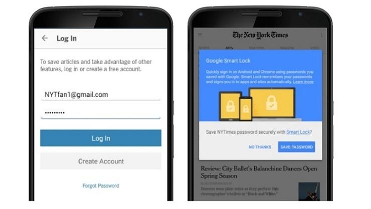 google smart lock for passwords - Tắt chức năng tự sao lưu mật khẩu lên Google