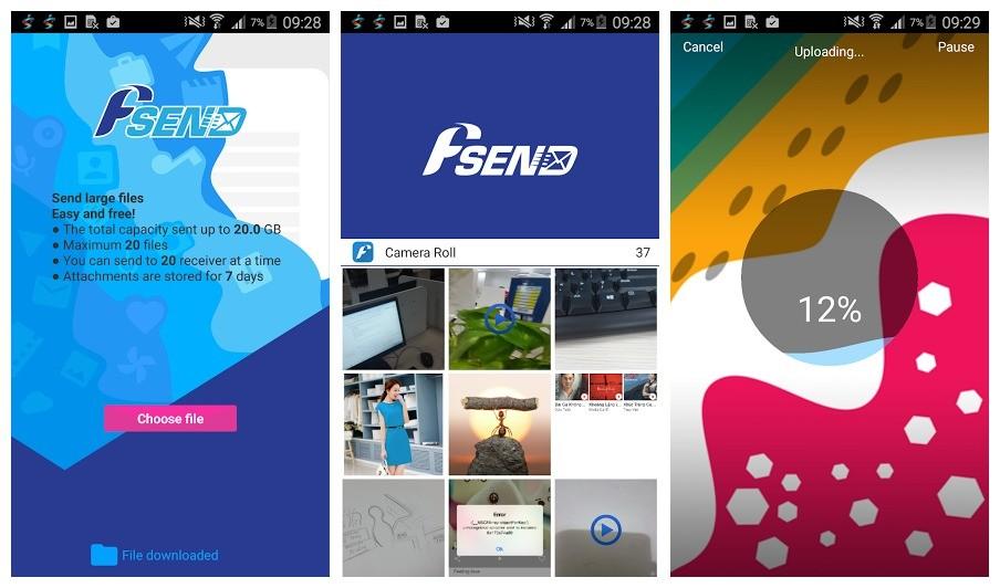 fsend fpt telecom - Hướng dẫn gửi file dung lượng đến 20GB
