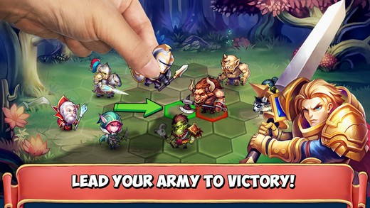 heroes tactics - Tổng hợp game mobile trong tuần