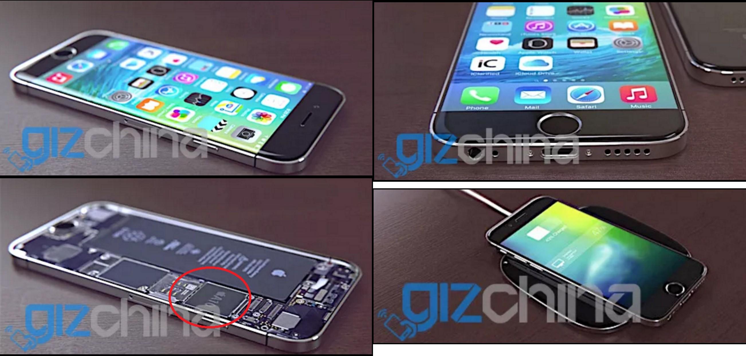 iPhone 7 - Chuỗi cung ứng của Apple hé lộ hình ảnh iPhone 7?