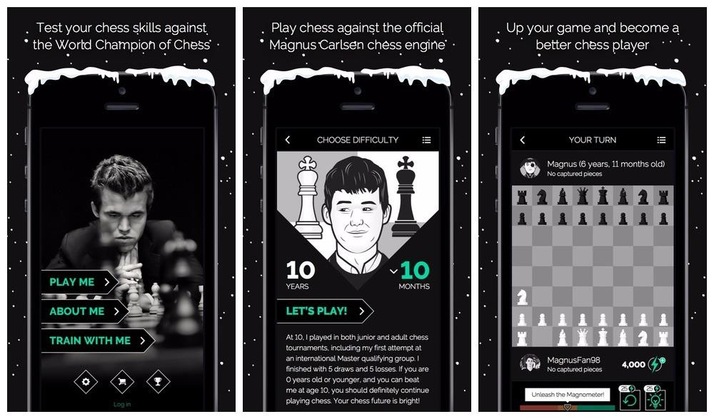 play magnus chess - Hướng dẫn luyện tập cờ vua cùng Carlsen trên điện thoại