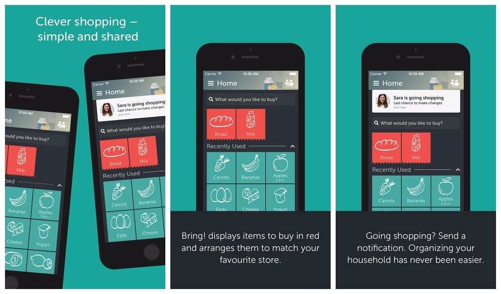 bring - Bring!: Tạo và chia sẻ danh sách mua bán