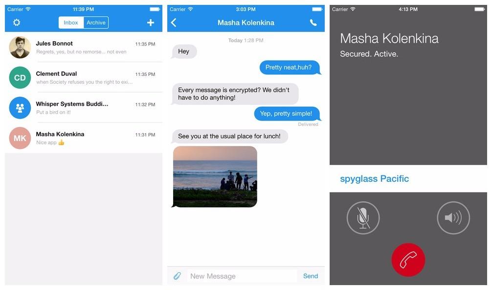 signal - Signal: Nhắn tin bảo mật trên iPhone