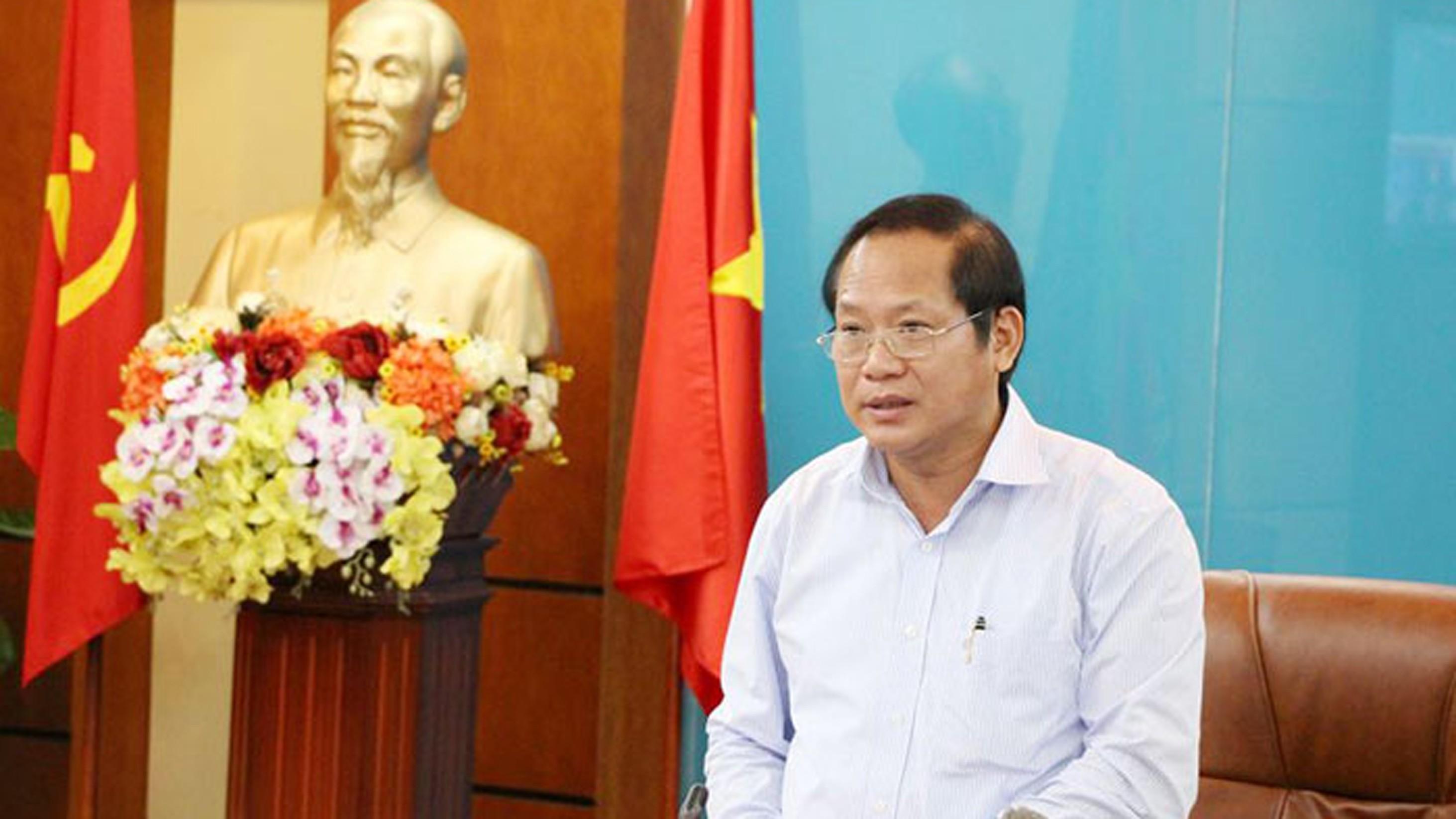 """Bo truong - Bộ trưởng Trương Minh Tuấn: """"Một số hãng máy tính nước ngoài cài phần mềm gián điệp vào máy tính tại Việt Nam"""""""