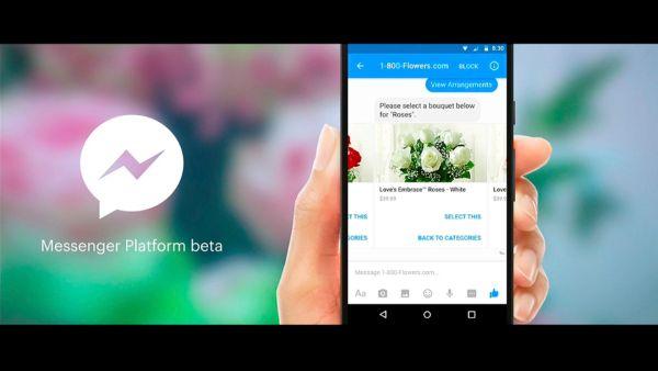 image - Sắp có thể đặt hoa, mua giầy, đọc báo trên Facebook Messenger