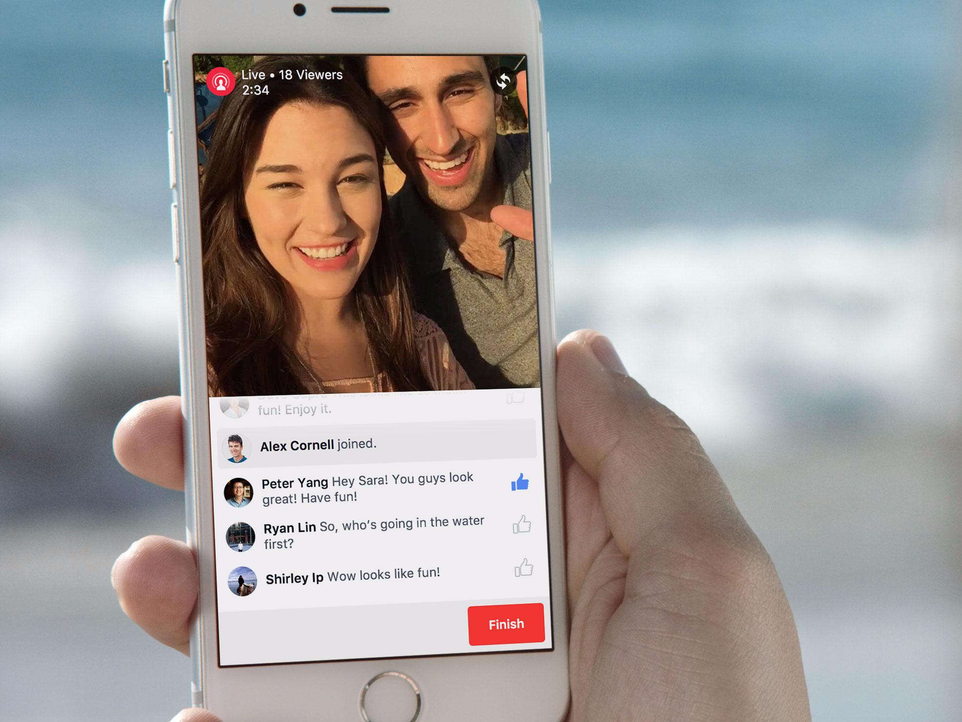 """15 mẹo phát video trực tiếp Facebook Live để có """"triệu lượt like"""""""