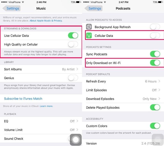 5 mẹo giúp bạn tiết kiệm đáng kể 3G trên iPhone