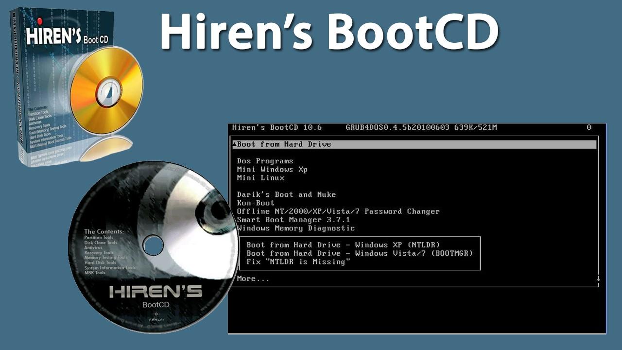 Hirenboot - Hướng dẫn tạo USB boot