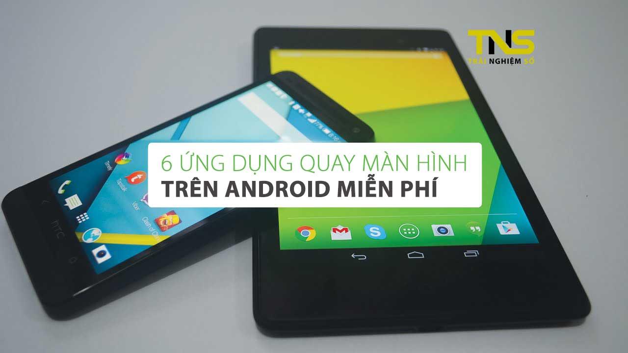 android screenshot - 6 ứng dụng quay màn hình trên Android miễn phí