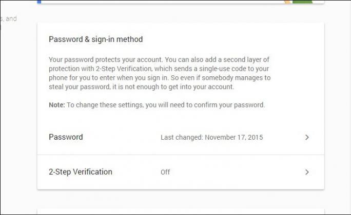 Bảo vệ tài khoản Google của bạn bằng