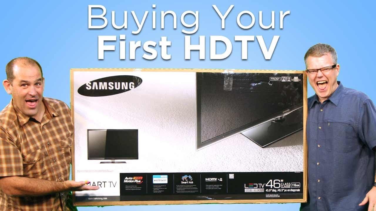 buy tv - Cẩm nang mua và sử dụng HDTV đúng cách