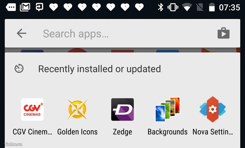 Các shortcut hay dành cho Android 6.0