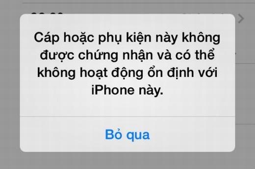 Cách đơn giản phân biệt cáp lightning, sạc, tai nghe iPhone giả