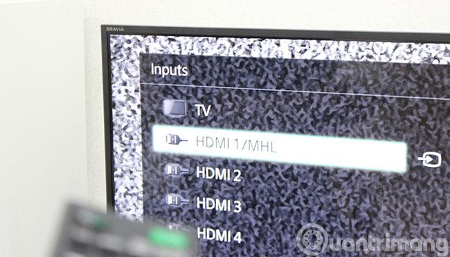 Cách kết nối laptop với tivi bằng cổng HDMI
