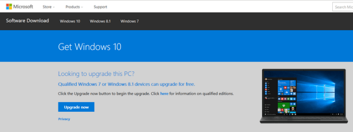 Cách nâng cấp miễn phí lên Windows 10 khi bạn còn có thể