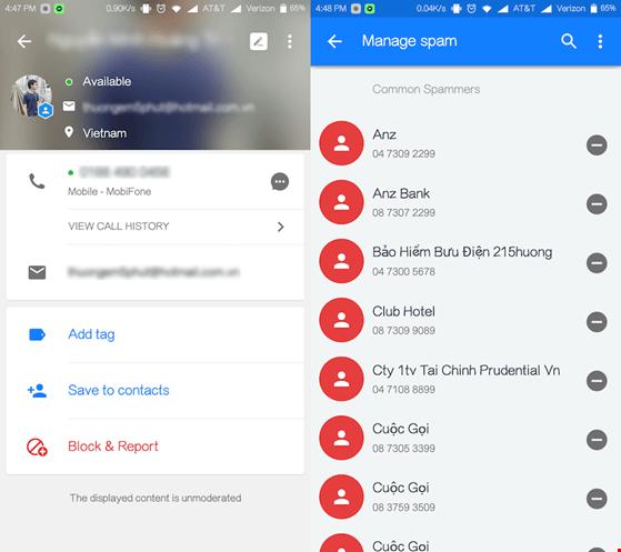 Cách truy tìm thông tin số điện thoại lạ
