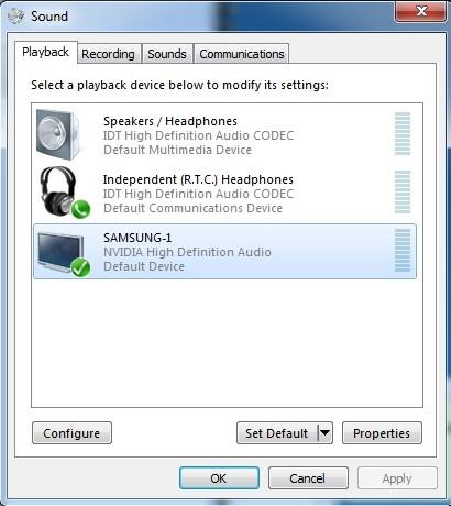 Cách xuất âm thanh ra amply khi kết nối HDMI từ laptop sang TV