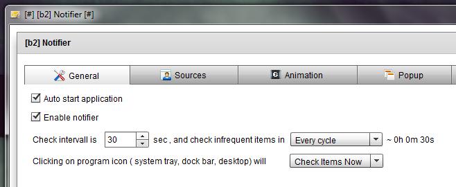 Check mail mà không cần mở trình duyệt với b2 Notifier