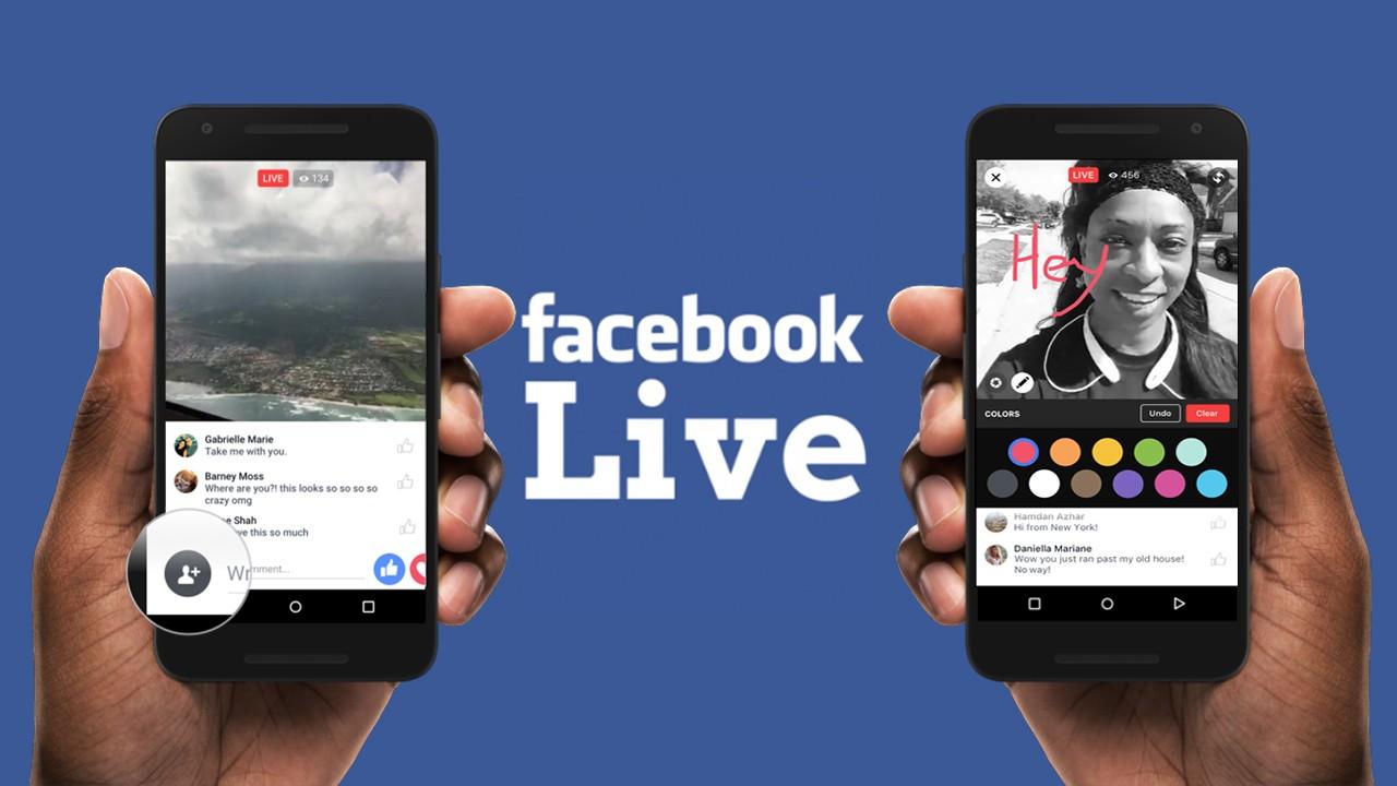 """facebook live - 15 mẹo phát video trực tiếp Facebook Live để có """"triệu lượt like"""""""