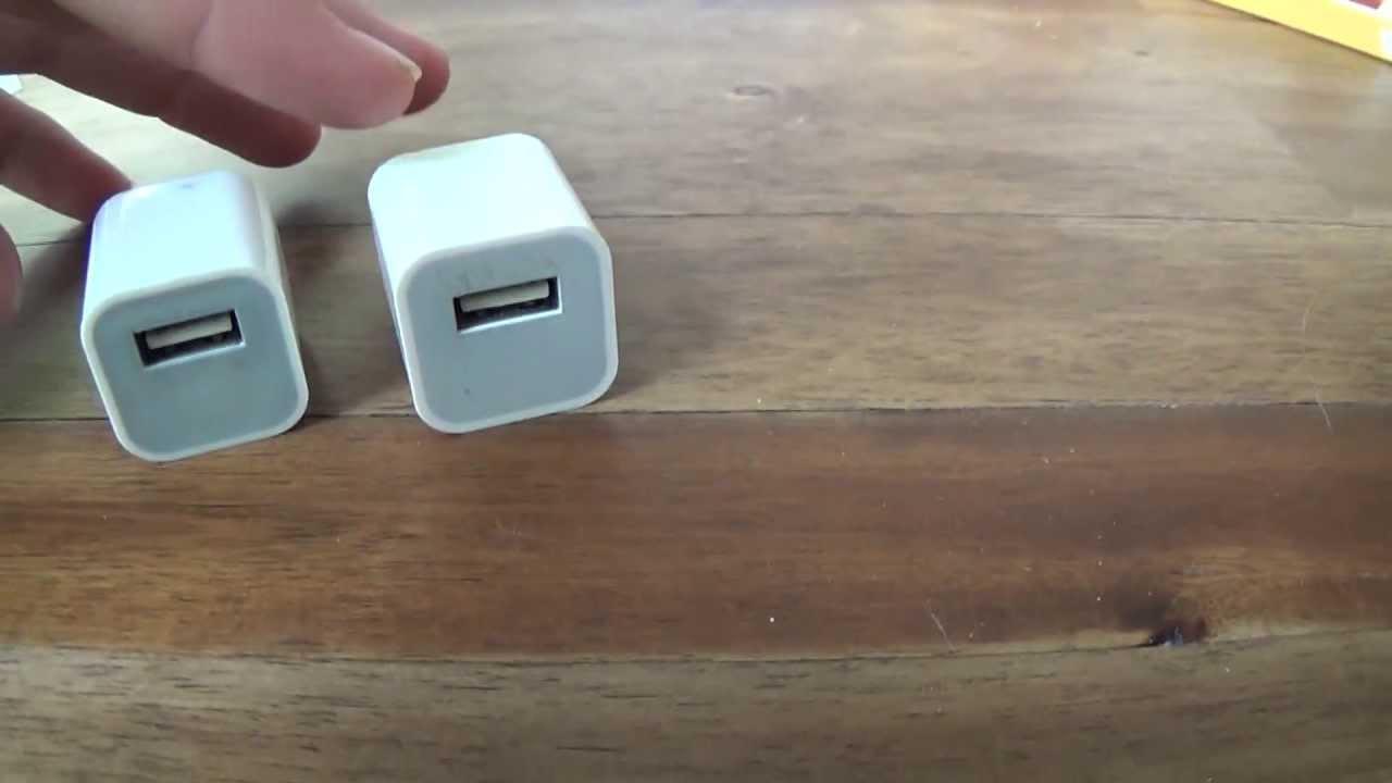 fake iphone charger - Cách đơn giản phân biệt cáp lightning, sạc, tai nghe iPhone giả