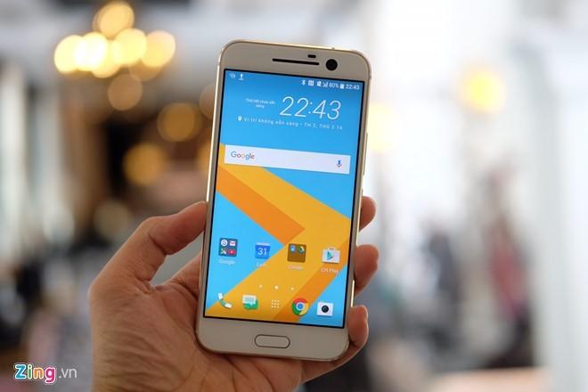 HTC 10 ra mắt tại VN, giá từ 16,9 triệu đồng