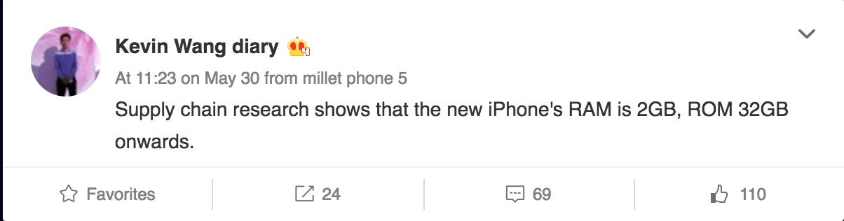 iPhone 7 sẽ không có bộ nhớ trong 16GB?