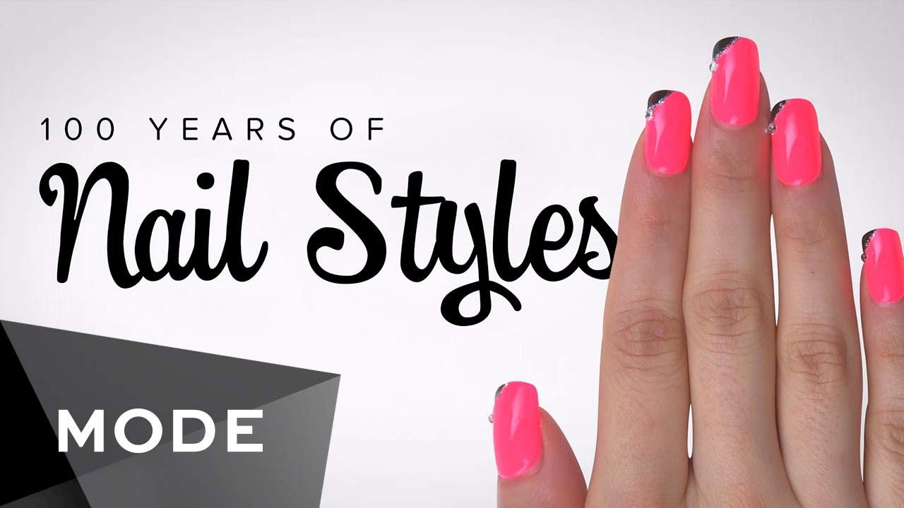 nail style - 100 năm phong cách làm nail