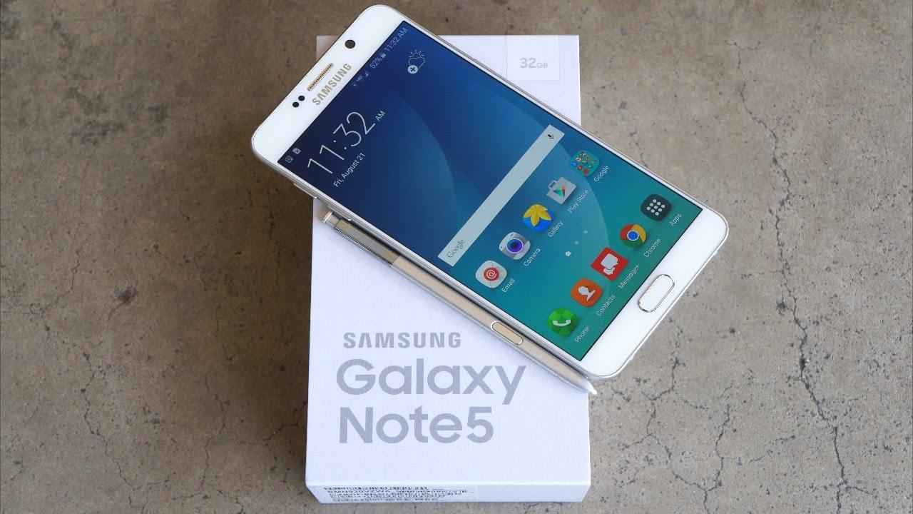 samsung galaxy note 5 - Hướng dẫn root điện thoại Galaxy Note 5