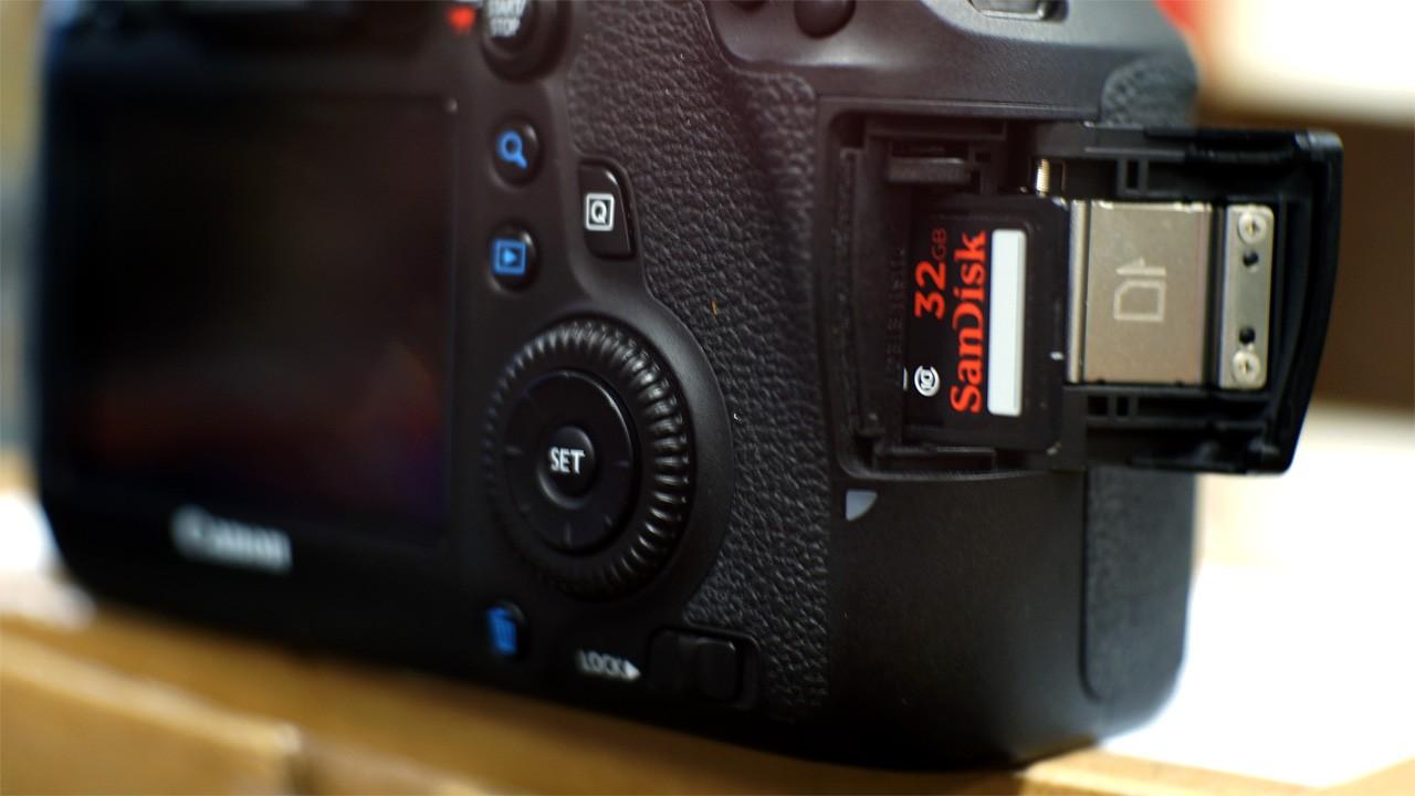 sd card camera - Cẩm nang sử dụng thẻ nhớ máy ảnh số