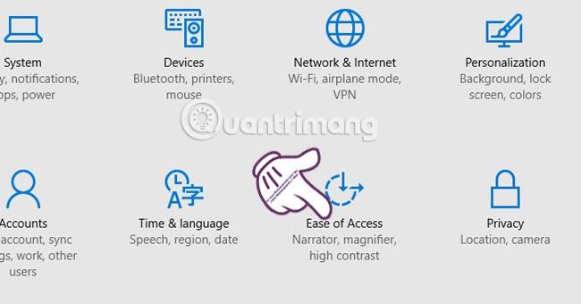 Tạo âm báo khi nhấn Caps Lock, Num Lock, hoặc Scroll Lock Windows 10