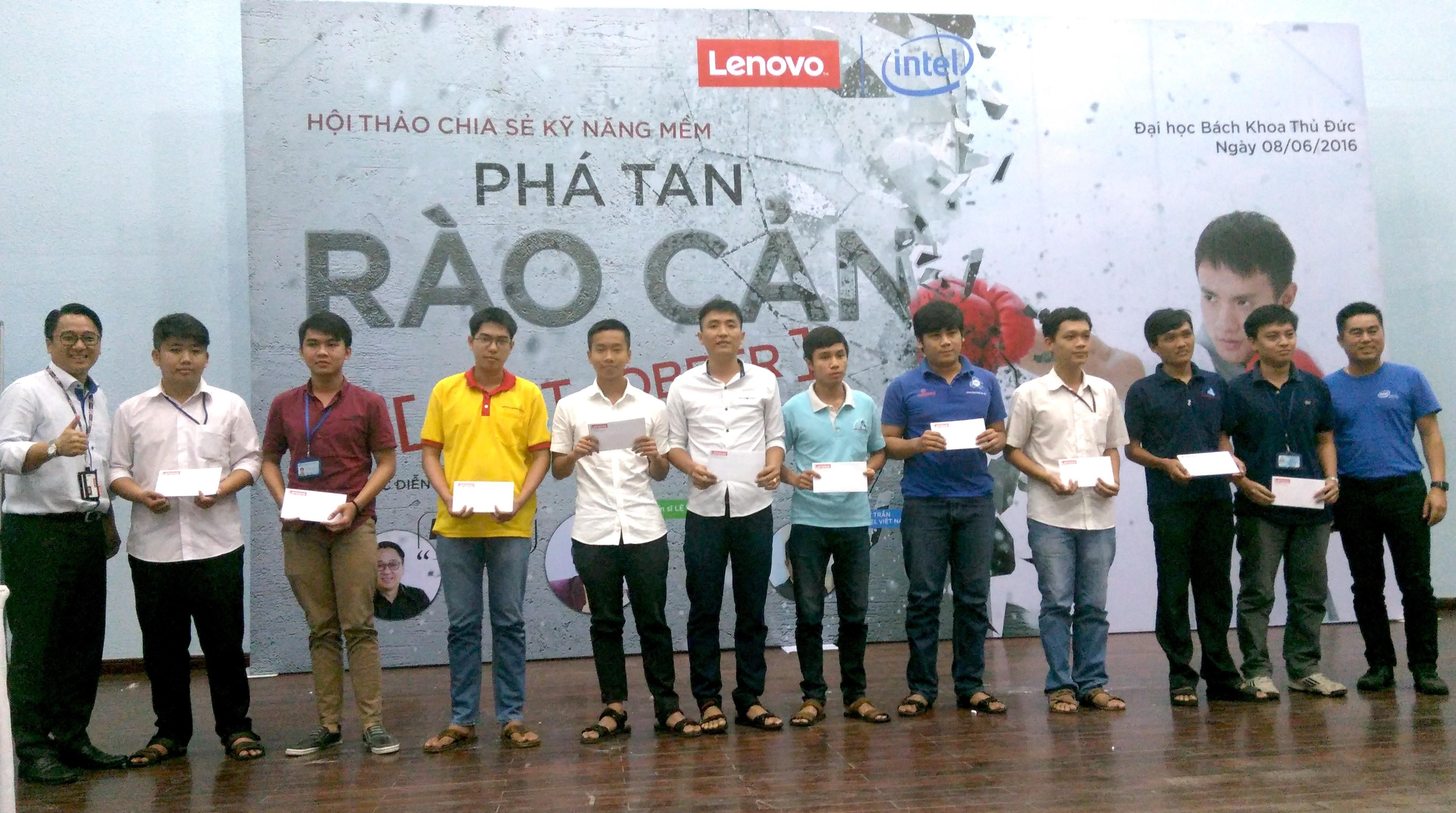 Lenovo - Lenovo đồng hành cùng sinh viên Việt Nam