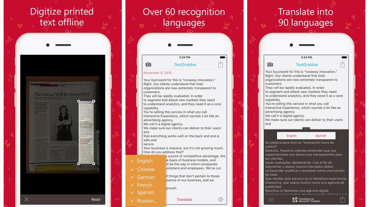 TextGrabber - Tải miễn phí app biến ảnh thành chữ TextGrabber trị giá 5USD