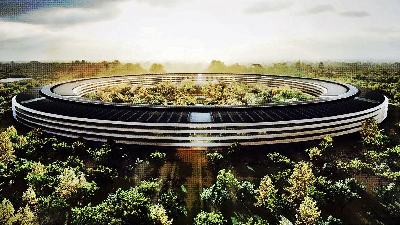 apple campus - Campus 2 - trụ sở 5 tỷ USD của Apple